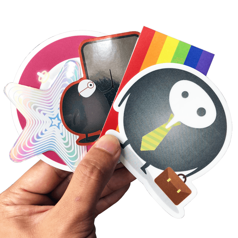Sticker print